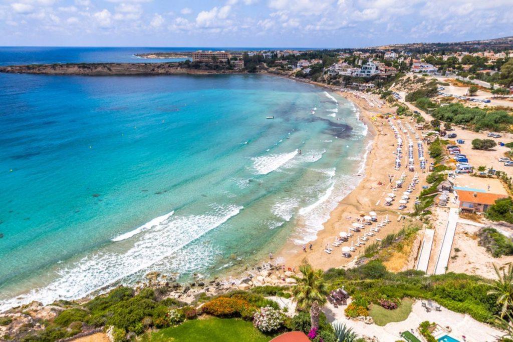 Лучшие пляжи Кипра: Пляж Корал-Бэй