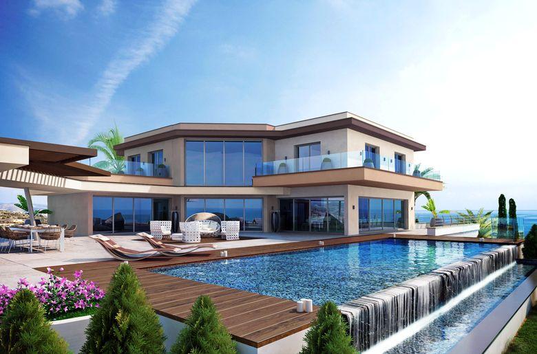 Строительство на Кипре: планировки: элитная недвижимость