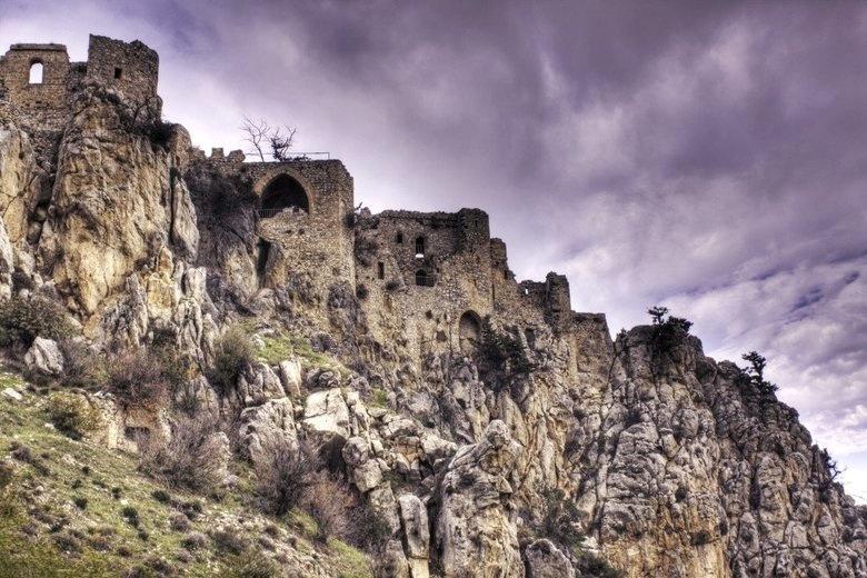 Изображение замка Буффавенто на Северном Кипре. Блог ProCyprus