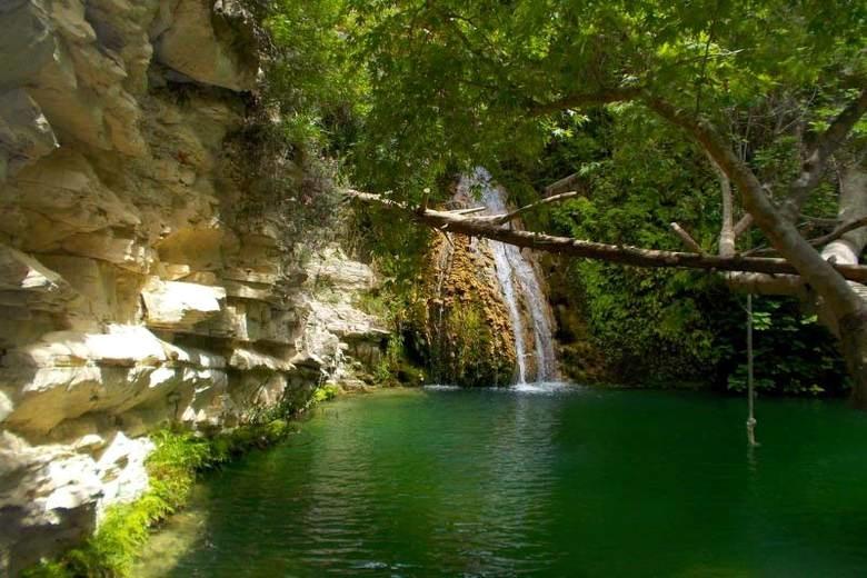Изображение Купальни Афродиты в Пафосе. Блог ProCyprus