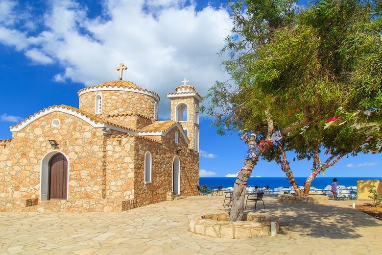 Изображение Часовни Пресвятой Богородицы в Протарасе. Блог ProCyprus