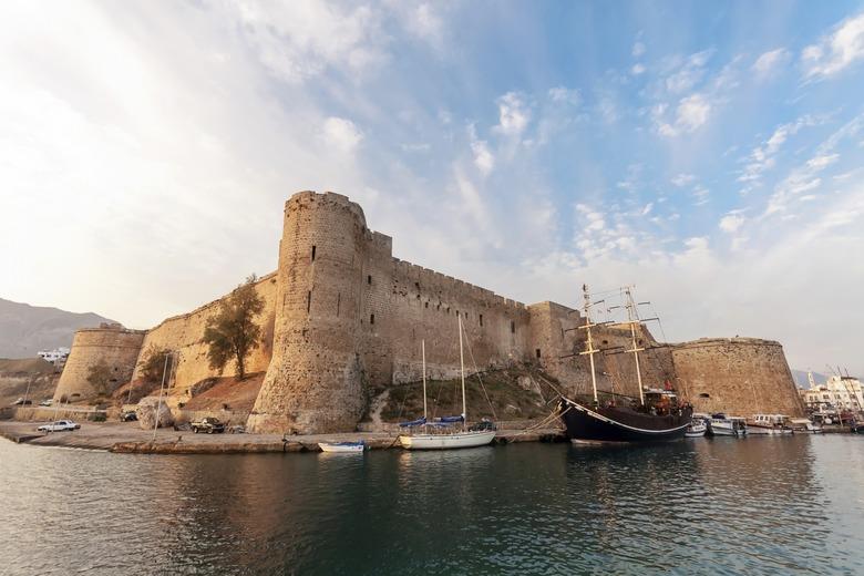 Изображение Киринейского замка на Северном Кипре. Блог ProCyprus