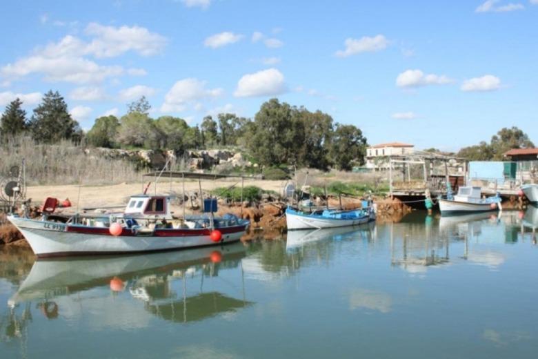 Изображение Рыбацкой деревеньки Лиопетри в Протарасе. Блог ProCyprus