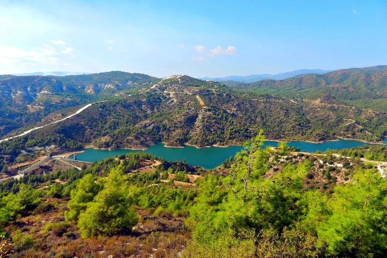 Изображение Гор Троодос на Кипре.  Блог ProCyprus
