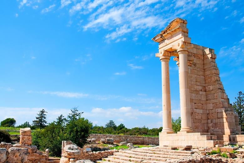 Изображение Храма Аполлона Хилатского в Лимассоле.  Блог ProCyprus